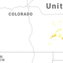 Regional Hail Map for Pueblo, CO - Sunday, September 12, 2021