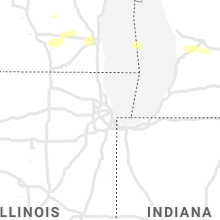 Regional Hail Map for Chicago, IL - Monday, September 13, 2021