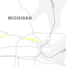 Regional Hail Map for Flint, MI - Monday, September 13, 2021