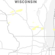 Regional Hail Map for Madison, WI - Monday, September 13, 2021