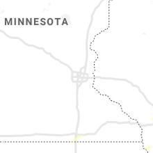 Regional Hail Map for Minneapolis, MN - Monday, September 13, 2021