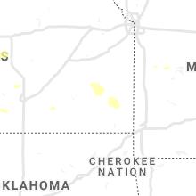 Regional Hail Map for Chanute, KS - Tuesday, September 14, 2021
