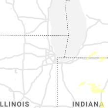 Regional Hail Map for Chicago, IL - Tuesday, September 14, 2021