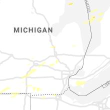 Regional Hail Map for Flint, MI - Tuesday, September 14, 2021