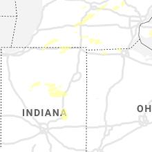 Regional Hail Map for Fort Wayne, IN - Tuesday, September 14, 2021