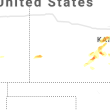 Regional Hail Map for Garden City, KS - Tuesday, September 14, 2021