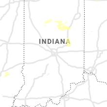 Regional Hail Map for Indianapolis, IN - Tuesday, September 14, 2021