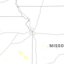 Regional Hail Map for Kansas City, MO - Tuesday, September 14, 2021