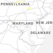 Regional Hail Map for Baltimore, MD - Wednesday, September 15, 2021