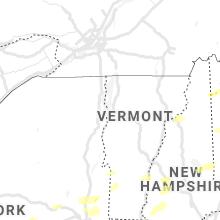 Regional Hail Map for Burlington, VT - Wednesday, September 15, 2021