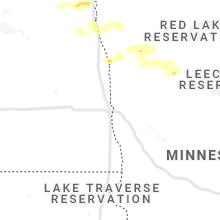 Regional Hail Map for Fargo, ND - Wednesday, September 15, 2021