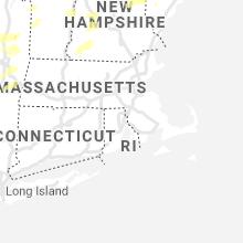 Regional Hail Map for Providence, RI - Wednesday, September 15, 2021