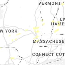 Regional Hail Map for Schenectady, NY - Wednesday, September 15, 2021