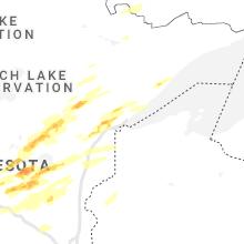Regional Hail Map for Duluth, MN - Thursday, September 16, 2021
