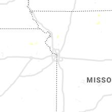 Regional Hail Map for Kansas City, MO - Friday, September 17, 2021