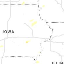 Regional Hail Map for Cedar Rapids, IA - Monday, September 20, 2021