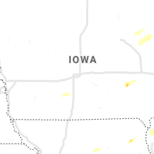 Regional Hail Map for Des Moines, IA - Monday, September 20, 2021