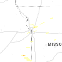 Regional Hail Map for Kansas City, MO - Monday, September 20, 2021