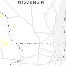 Regional Hail Map for Madison, WI - Monday, September 20, 2021
