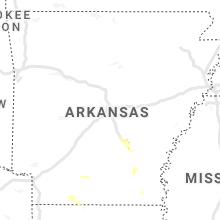 Regional Hail Map for Little Rock, AR - Tuesday, September 21, 2021