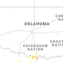 Regional Hail Map for Oklahoma City, OK - Tuesday, September 28, 2021