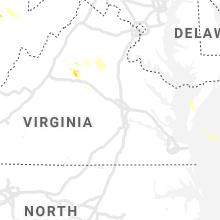 Regional Hail Map for Richmond, VA - Tuesday, September 28, 2021