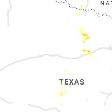 Regional Hail Map for Abilene, TX - Wednesday, September 29, 2021