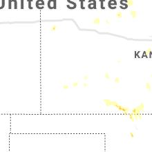 Regional Hail Map for Garden City, KS - Wednesday, September 29, 2021