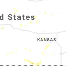 Regional Hail Map for Hays, KS - Wednesday, September 29, 2021