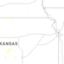 Regional Hail Map for Manhattan, KS - Wednesday, September 29, 2021