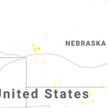 Hail Map for north-platte-ne 2021-09-29