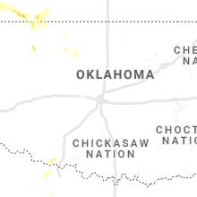 Regional Hail Map for Oklahoma City, OK - Wednesday, September 29, 2021
