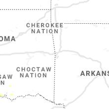 Regional Hail Map for Fort Smith, AR - Thursday, September 30, 2021