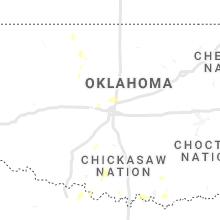 Regional Hail Map for Oklahoma City, OK - Thursday, September 30, 2021