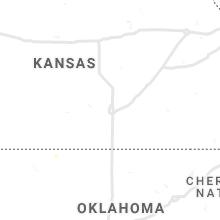 Regional Hail Map for Wichita, KS - Saturday, October 2, 2021