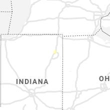Regional Hail Map for Fort Wayne, IN - Sunday, October 3, 2021