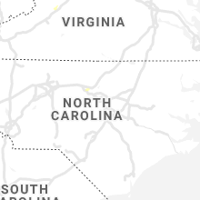 Regional Hail Map for Raleigh, NC - Monday, October 4, 2021