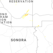 Regional Hail Map for Douglas, AZ - Tuesday, October 5, 2021