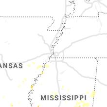 Hail Map for memphis-tn 2021-10-05