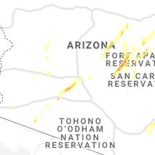 Hail Map for phoenix-az 2021-10-05