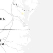 Hail Map for virginia-beach-va 2021-10-05