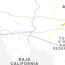 Hail Map for yuma-az 2021-10-05