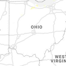Regional Hail Map for Columbus, OH - Friday, October 8, 2021