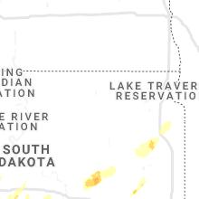 Hail Map for aberdeen-sd 2021-10-09