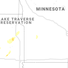 Regional Hail Map for Montevideo, MN - Saturday, October 9, 2021