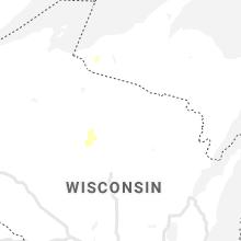 Hail Map for rhinelander-wi 2021-10-09