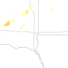 Regional Hail Map for Sioux Falls, SD - Saturday, October 9, 2021