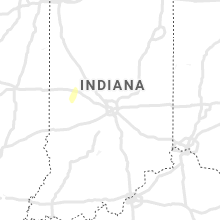 Regional Hail Map for Indianapolis, IN - Monday, October 11, 2021