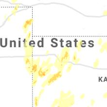 Regional Hail Map for Colby, KS - Tuesday, October 12, 2021
