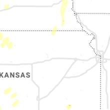 Regional Hail Map for Manhattan, KS - Tuesday, October 12, 2021
